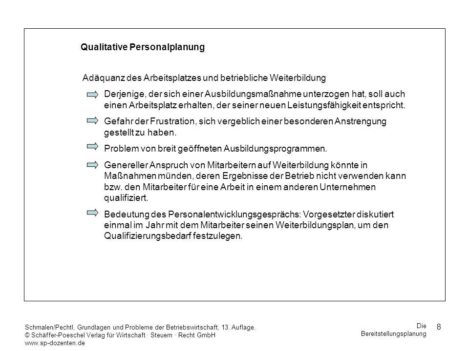 59 Schmalen/Pechtl, Grundlagen und Probleme der Betriebswirtschaft, 13.