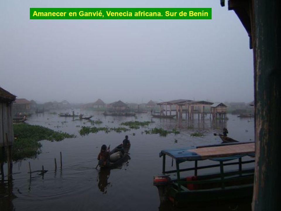 Ganvié, la Venecia africana. Sur de Benín