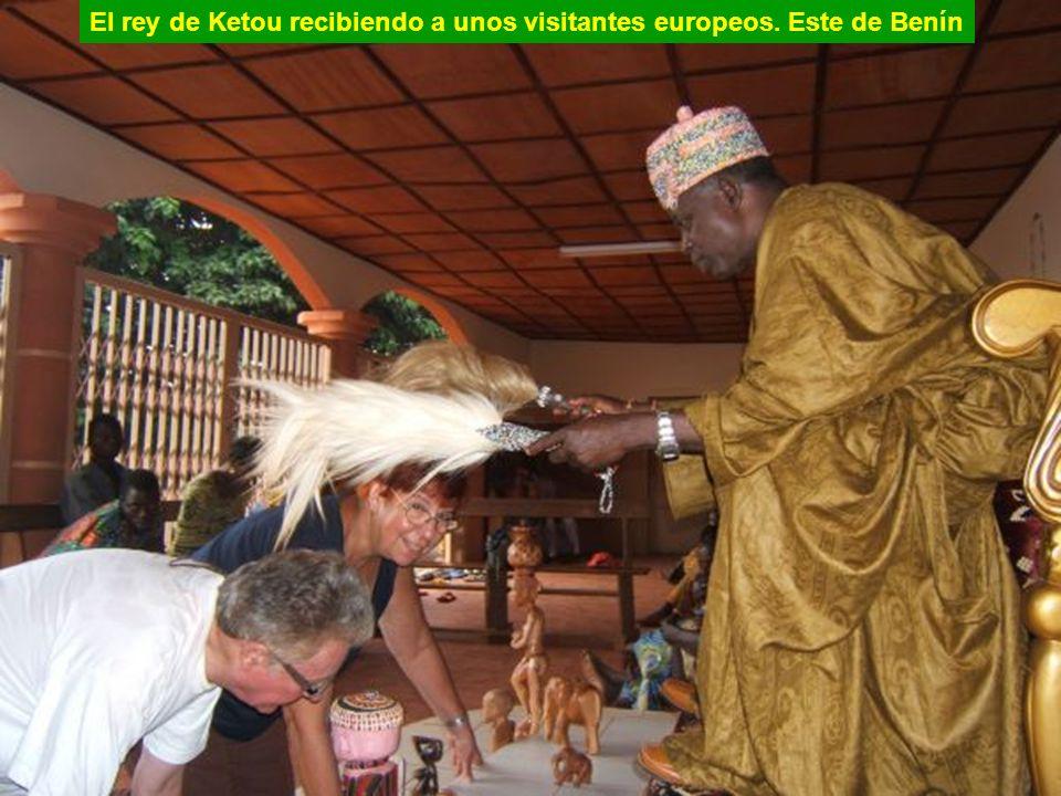 El soberano de Ketou, Benín