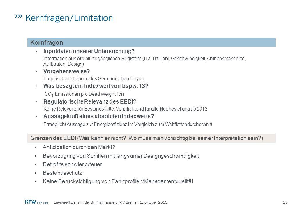 13Energieeffizienz in der Schiffsfinanzierung / Bremen 1.