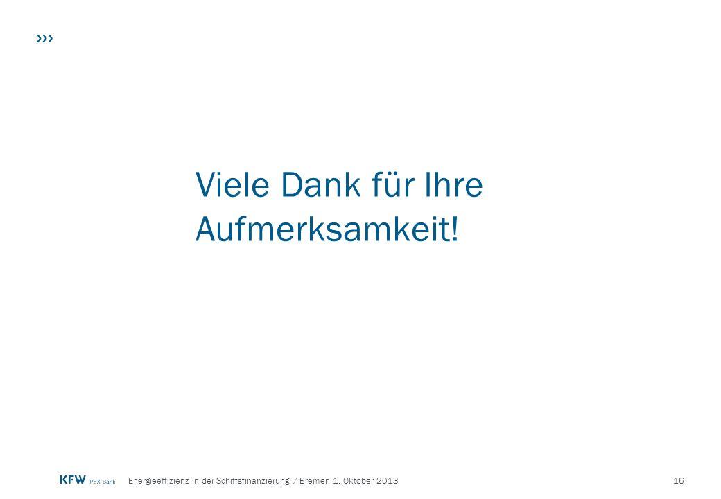 16Energieeffizienz in der Schiffsfinanzierung / Bremen 1.