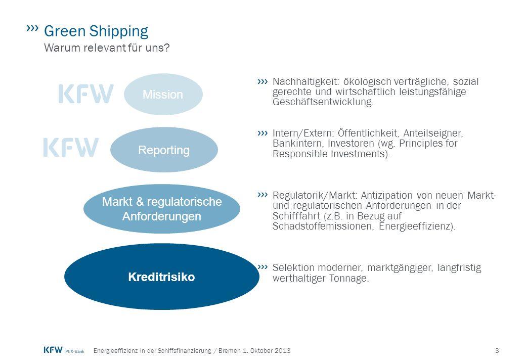 3Energieeffizienz in der Schiffsfinanzierung / Bremen 1.