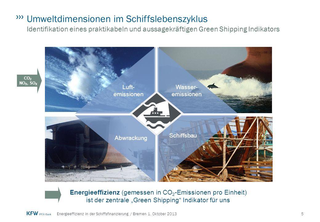 6Energieeffizienz in der Schiffsfinanzierung / Bremen 1.