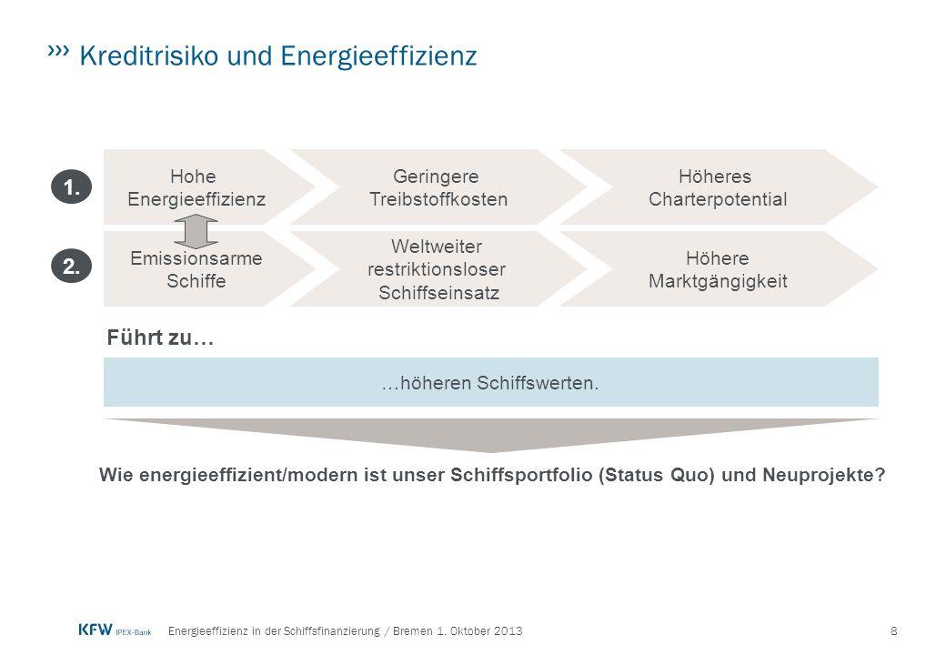 9Energieeffizienz in der Schiffsfinanzierung / Bremen 1.