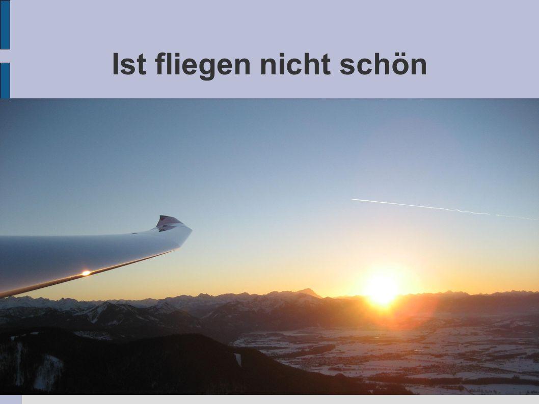 Ist fliegen nicht schön