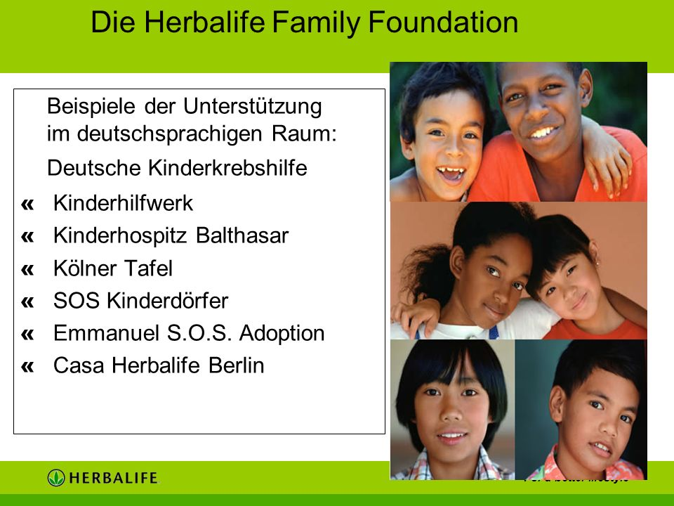 Beispiele der Unterstützung im deutschsprachigen Raum: Deutsche Kinderkrebshilfe « Kinderhilfwerk « Kinderhospitz Balthasar « Kölner Tafel « SOS Kinde