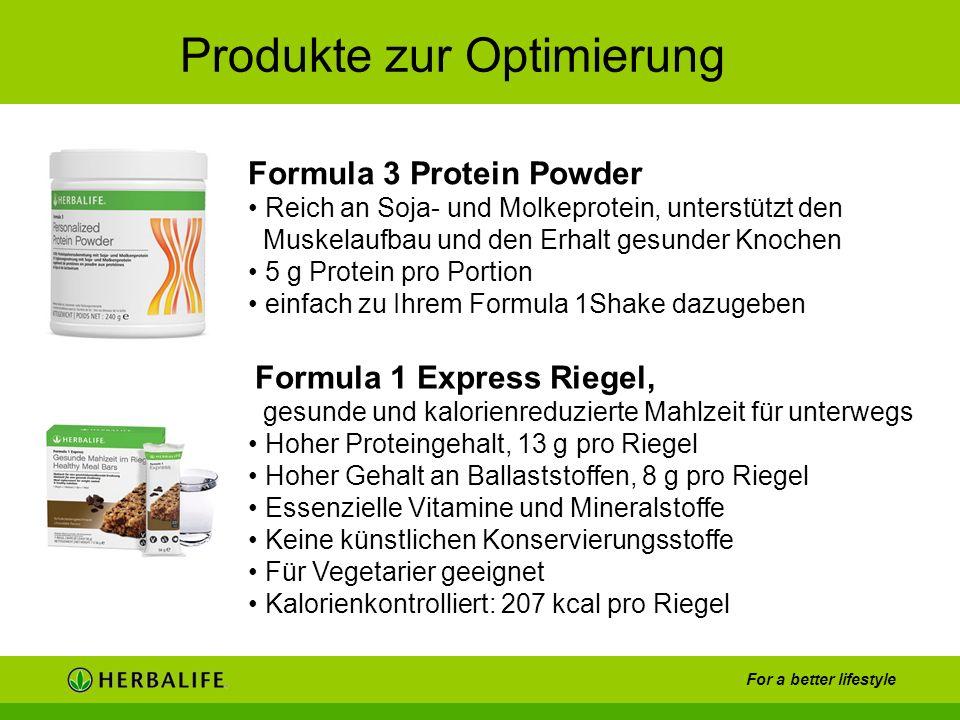 For a better lifestyle -Die Formula 3 Protein Powder Reich an Soja- und Molkeprotein, unterstützt den Muskelaufbau und den Erhalt gesunder Knochen 5 g