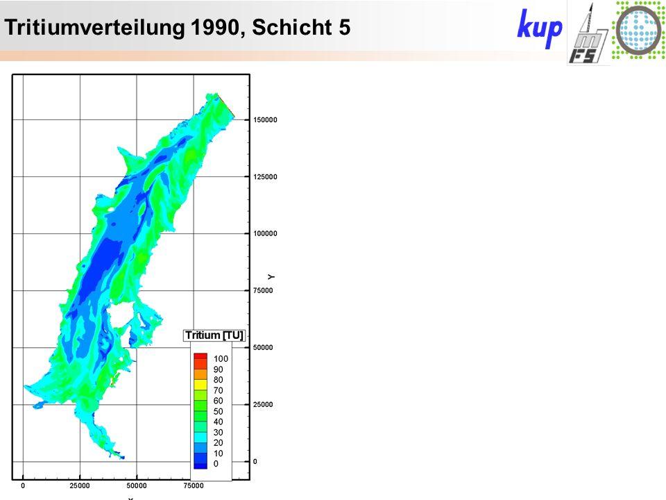 Untersuchungsgebiet: Tritiumverteilung 1990, Schicht 5