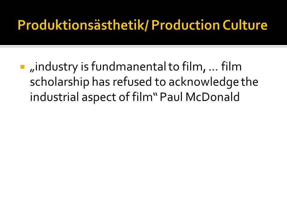 industry is fundmanental to film,...