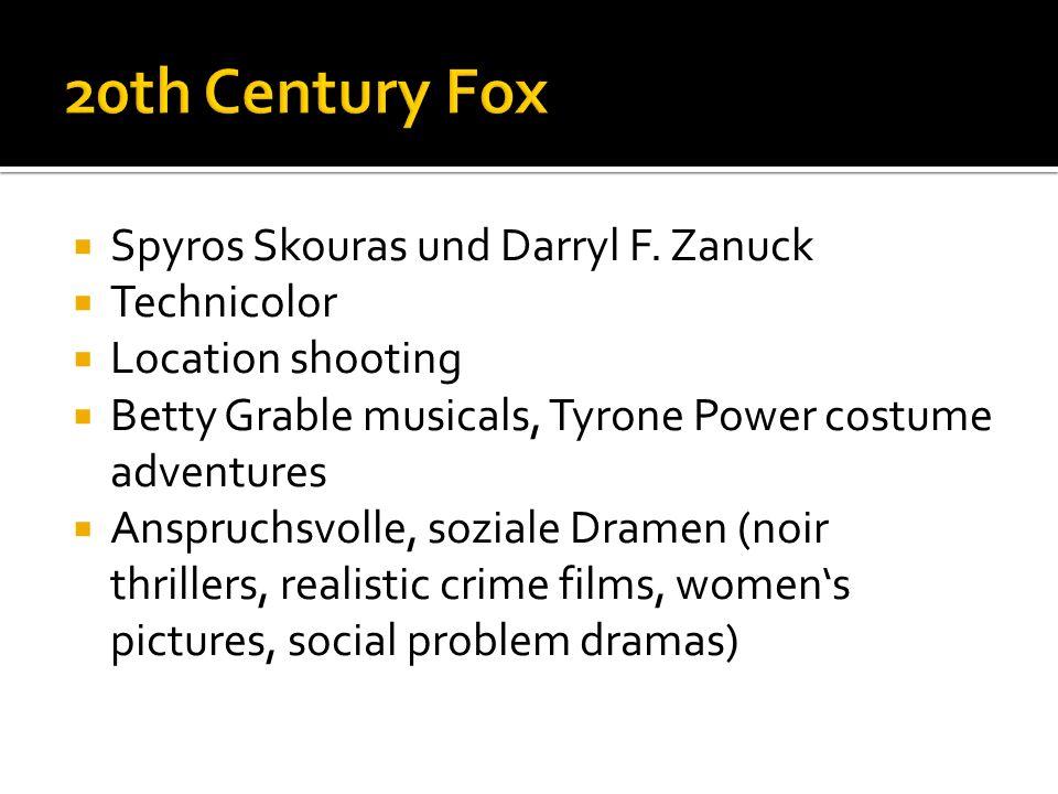 Spyros Skouras und Darryl F.