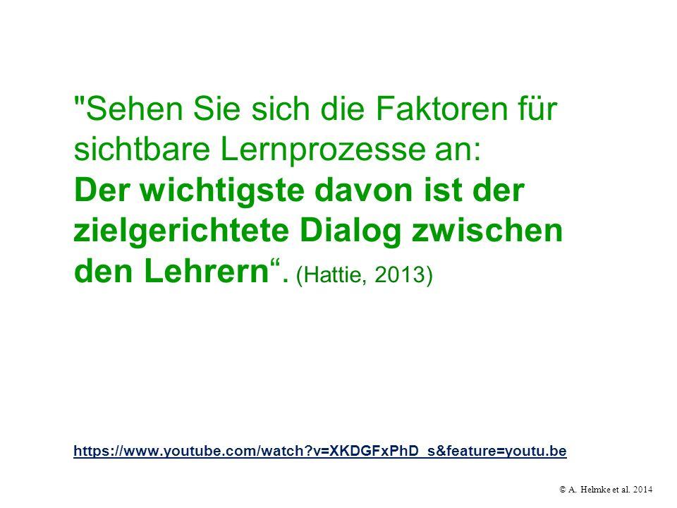 © A. Helmke et al. 2014