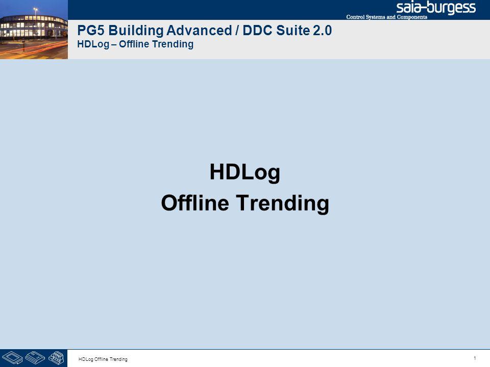 1 HDLog Offline Trending PG5 Building Advanced / DDC Suite 2.0 HDLog – Offline Trending HDLog Offline Trending