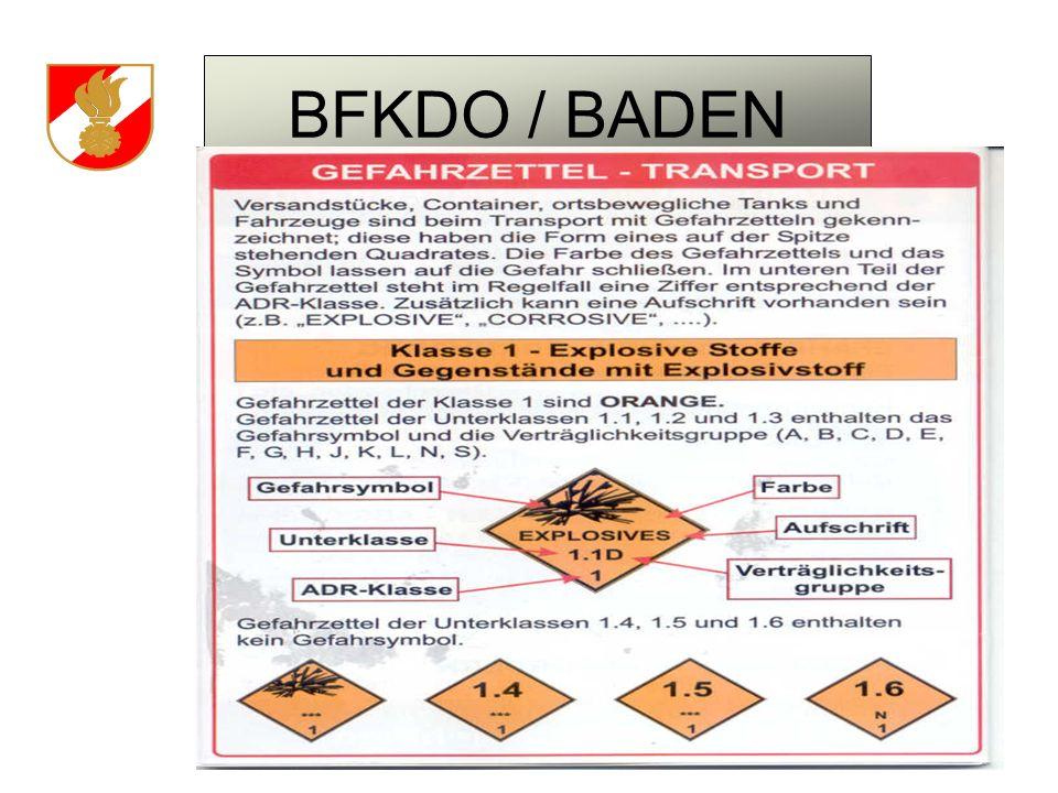 BFKDO / BADEN OBM SCHWARZ