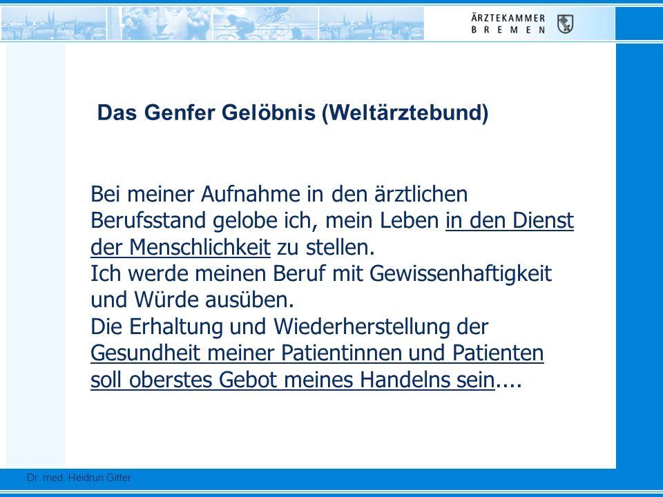 Dr.Ursula Auerswald :: Vizepräsidentin der Bundesärztekammer Dr.