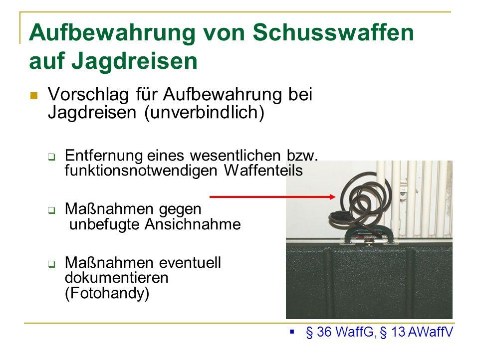 Seminar Waffenrecht 09.10.2010