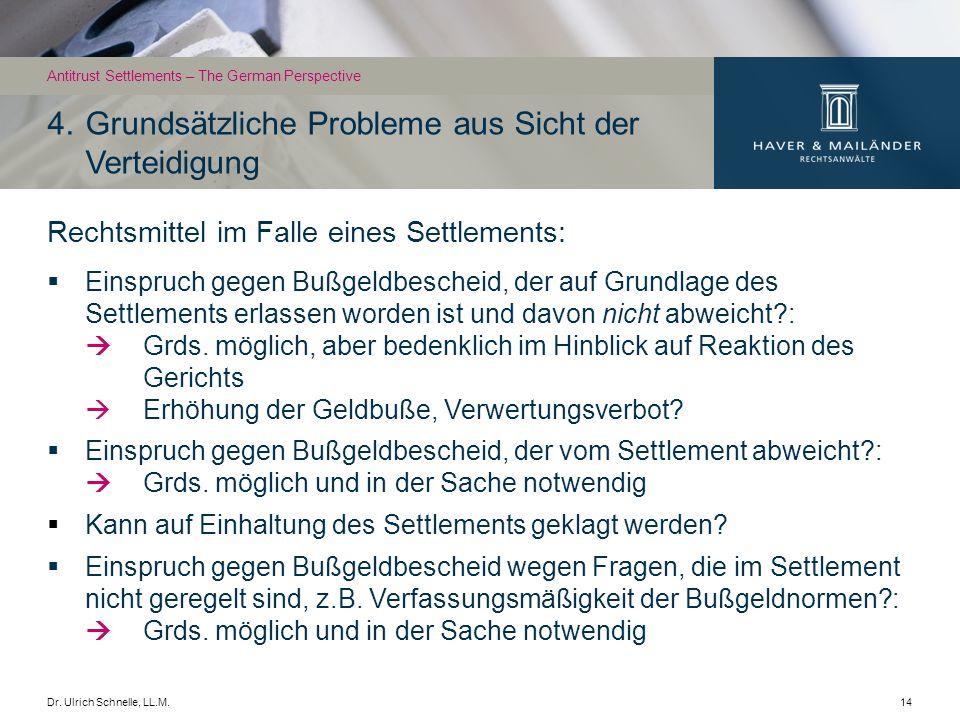 Dr.Ulrich Schnelle, LL.M.15 5.