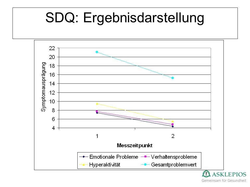 SDQ: Ergebnisdarstellung