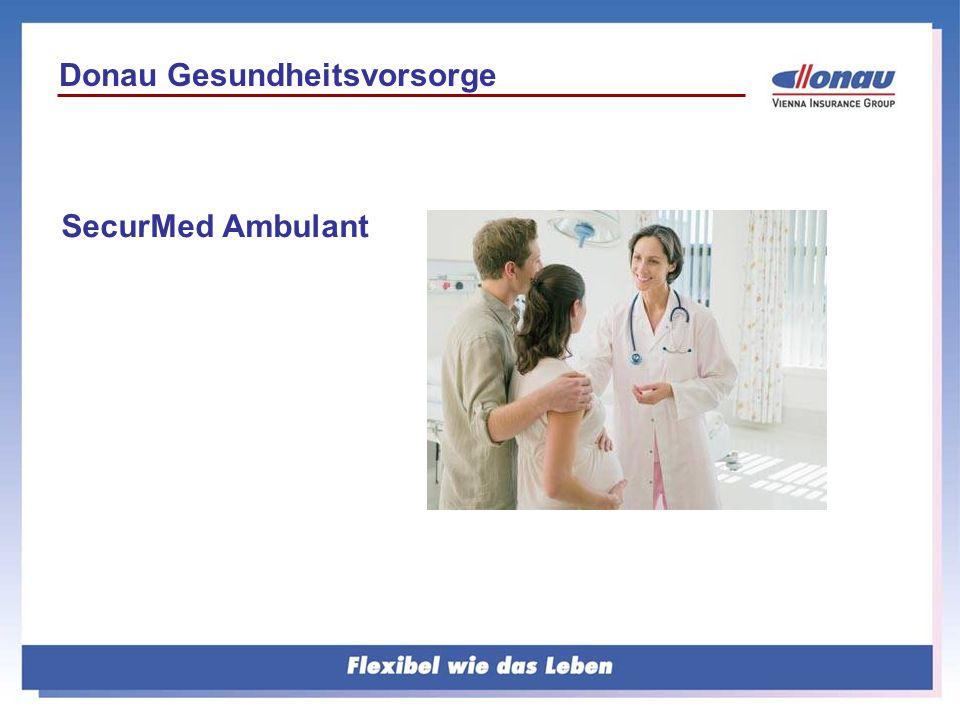 Donau Gesundheitsvorsorge SecurMed Ambulant