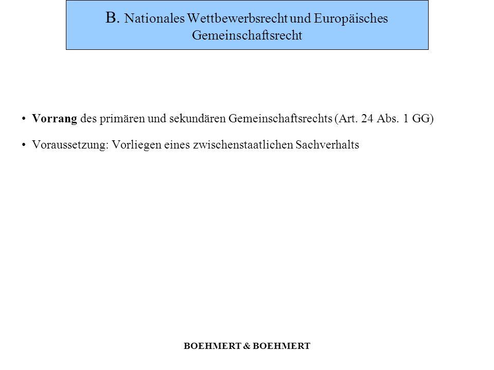 BOEHMERT & BOEHMERT E.