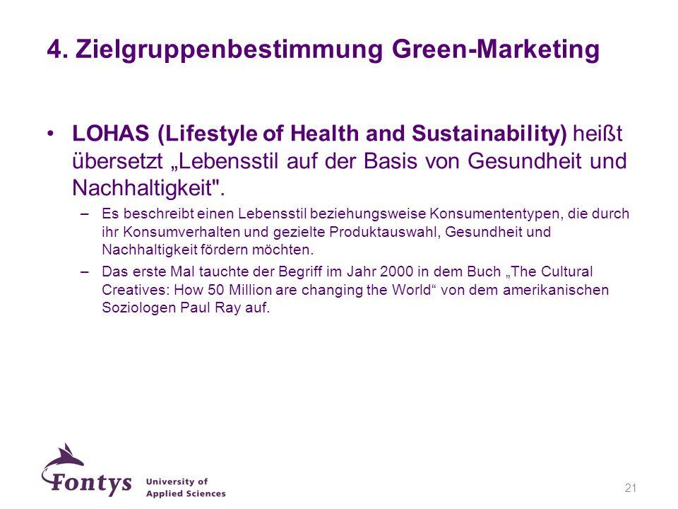 LOHAS (Lifestyle of Health and Sustainability) heißt übersetzt Lebensstil auf der Basis von Gesundheit und Nachhaltigkeit