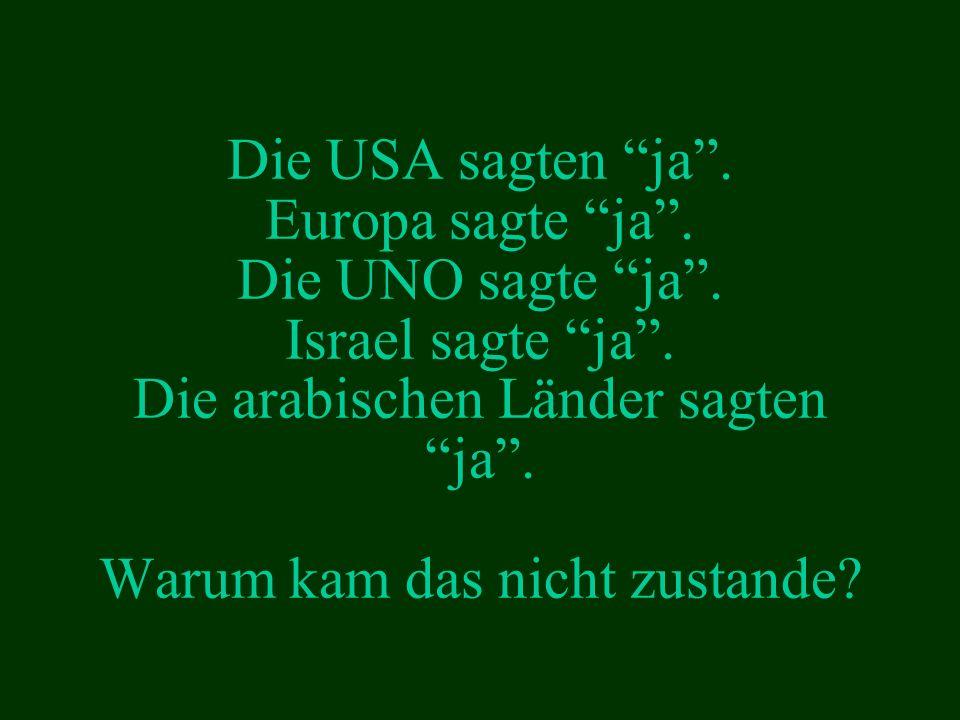 Wisse, mein Sohn, dass Palästina dein Land ist...