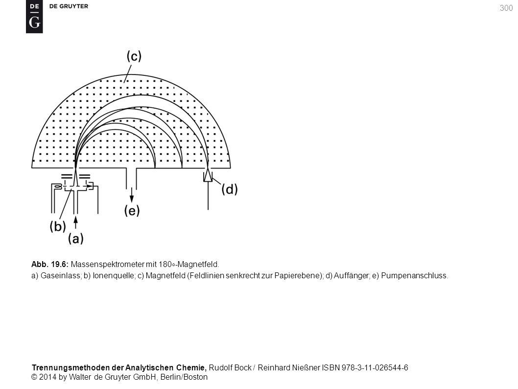 Trennungsmethoden der Analytischen Chemie, Rudolf Bock / Reinhard Nießner ISBN 978-3-11-026544-6 © 2014 by Walter de Gruyter GmbH, Berlin/Boston 300 Abb.