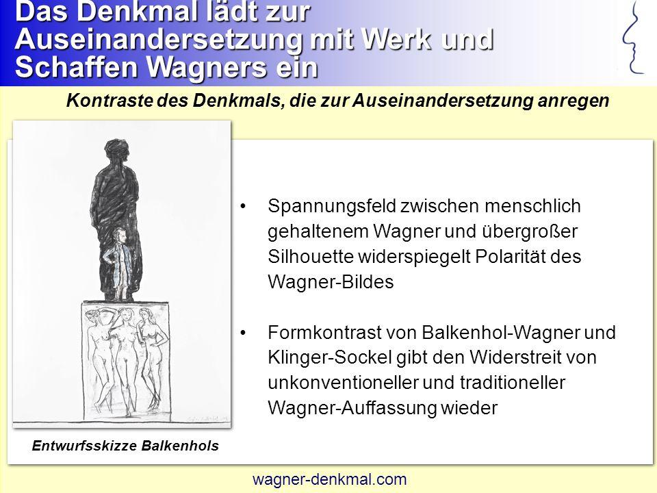 Leipzig erhält ein einzigartiges, zur Auseinandersetzung anregendes Wagner-Denkmal Warum passt der Entwurf zu Leipzig.
