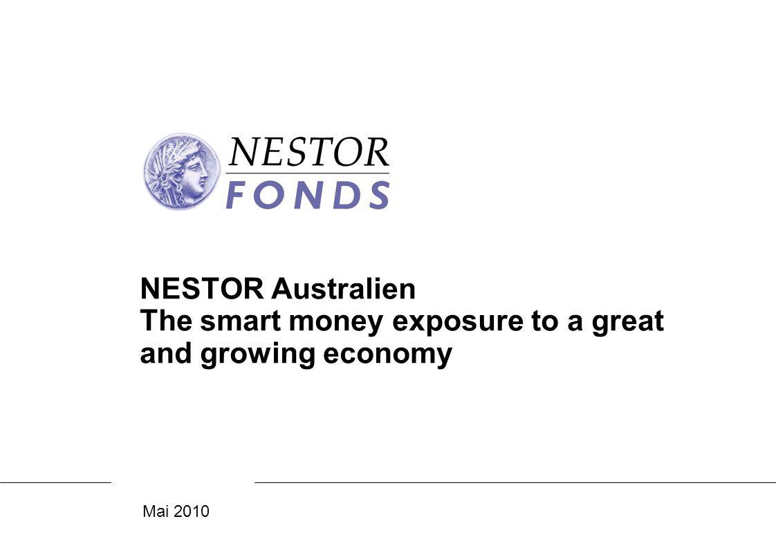 22 Chancen und Risiken ChancenRisiken Partizipation an der extrem soliden australischen Volkswirtschaft Gutes, indirektes Exposure zu den asiatischen Wachstumsmärkten, aber in einem sehr regulierten und professionellem Aktienmarkt Gute Diversifizierung zu etablierten Welt-Aktienmärkten mit nachhaltigem Exposure zum Rohstoffboom der nächsten Jahre Rohstoffmärkte sind generell volatil, so auch die Kurse der rohstoffprodu- zierenden Unternehmen Politische Umwälzungen in China/ Asien hätten sicherlich in abge- schwächter Form Einfluss auf Australien Als stockpicker, der auch small-caps berücksichtigt, vergleichsweise hohe Volatilität Hinweis: Das Sondervermögen kann aufgrund seiner Zusammensetzung/der vom Fondsmanagement verwendeten Techniken eine erhöhte Volatilität aufweisen, d.h.