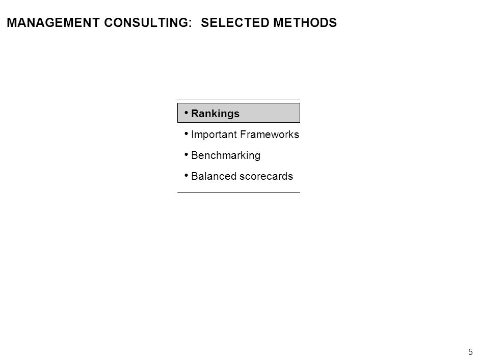 46 000624FT_262414_777_v3_i REVIEWING FOUR WELL-KNOWN METHODOLOGIES – (2/2) Defining characteristics/ strengths Potential missing elements Valued-based management Direct linkage to shareholder value Approach for addressing performance drivers that are not derived directly from quantifiable economic drivers Approach to measuring longer-term performance indicators (e.g., customer satisfaction, innovation) 4