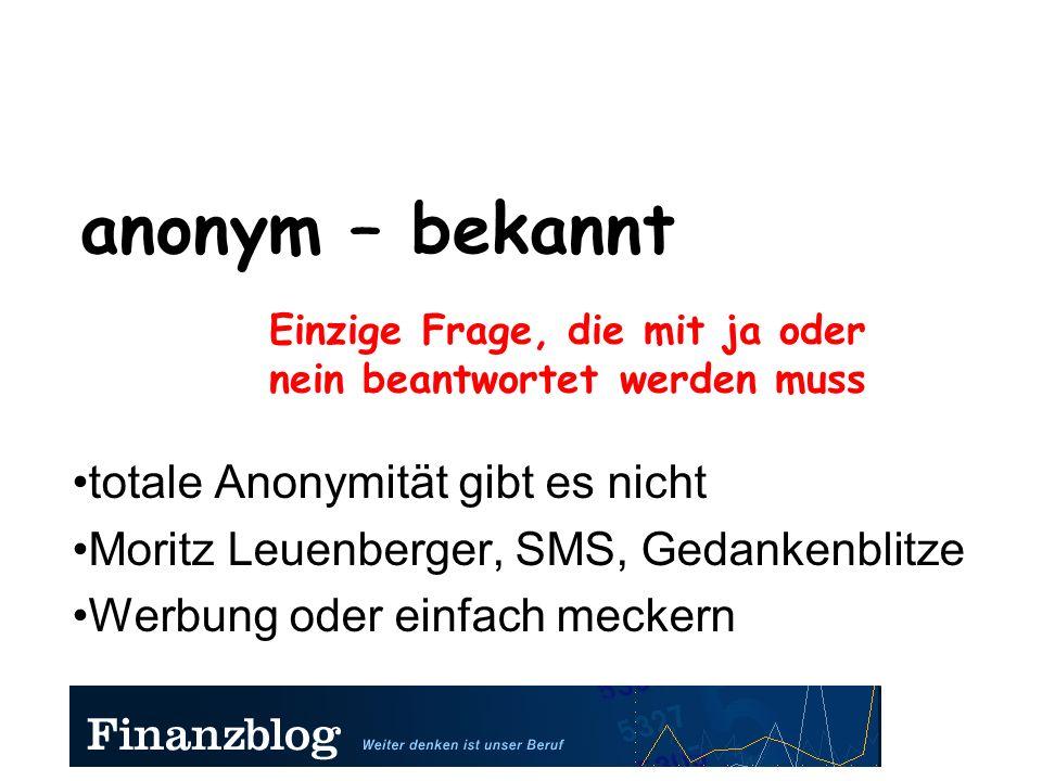 Trendname – Blog1a2b3c4d Institut für Geistiges Eigentum (Patentamt) Finanzblog ist Gemeingut (IGE gegen IGE) Reis lässt sich schützen, wirklich Neues nicht Alles ist relativ - Einstein