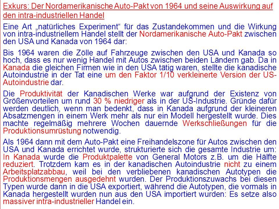 © RAINER MAURER, Pforzheim - 1 - Prof. Dr. Rainer Maurer - 1 - Prof. Dr. Rainer Maurer Exkurs: Der Nordamerikanische Auto-Pakt von 1964 und seine Ausw
