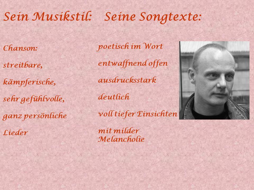 Seine Auszeichnungen und Alben 1985: Preisträger bei den