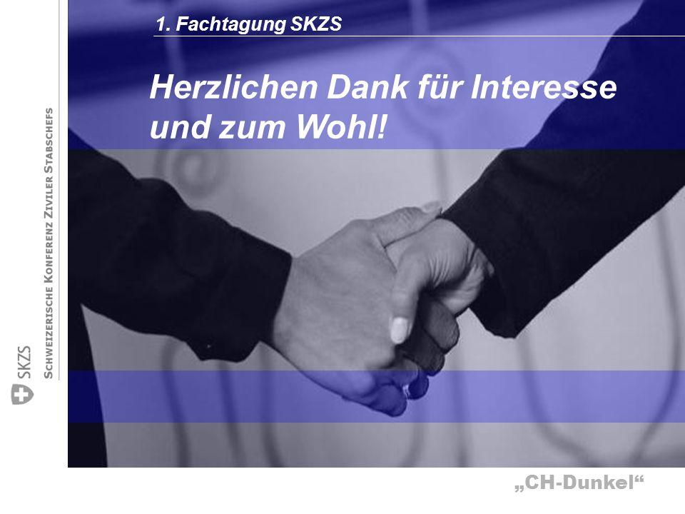 CH-Dunkel Herzlichen Dank für Interesse und zum Wohl! 1. Fachtagung SKZS