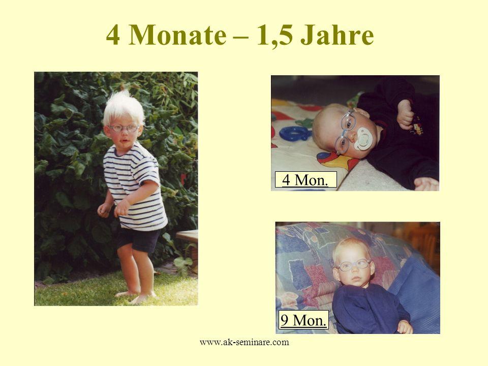 www.ak-seminare.com 4 Monate – 1,5 Jahre 4 Mon. 9 Mon.