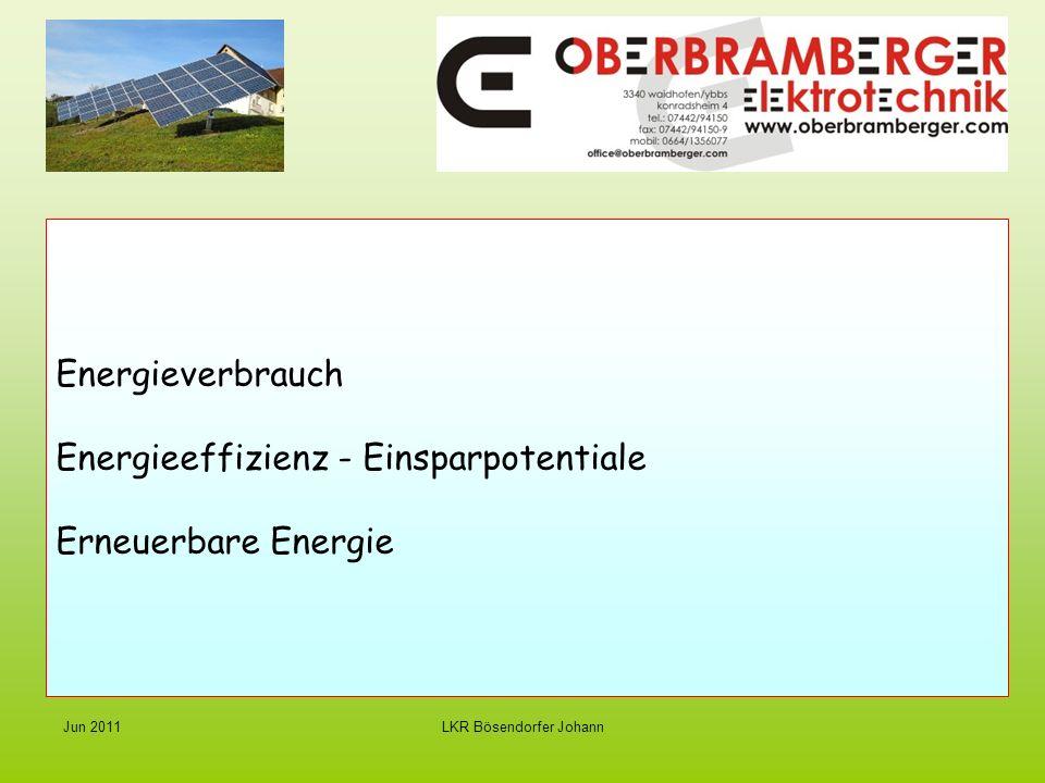 LKR Bösendorfer JohannJun 2011 Strom von der Sonne – Photovoltaik Die Sonne ist das Öl des 21.