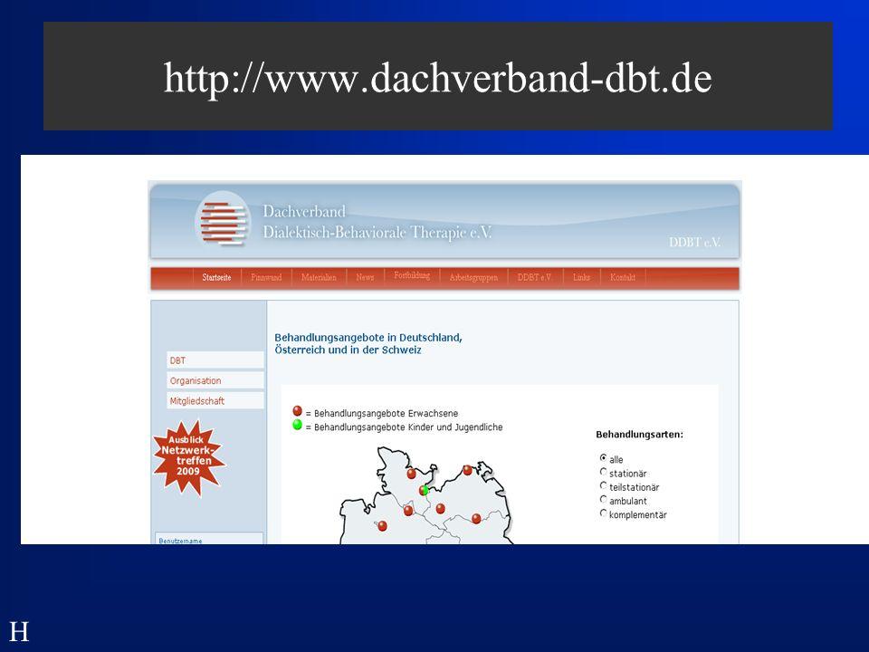 Strategien der DBT: Commitment - allgemeine Aspekte - kann als eigenständiges Verhalten betrachtet werden ist ein Ziel der Therapie ist eine notwendige Vorbedingung für die Therapie H
