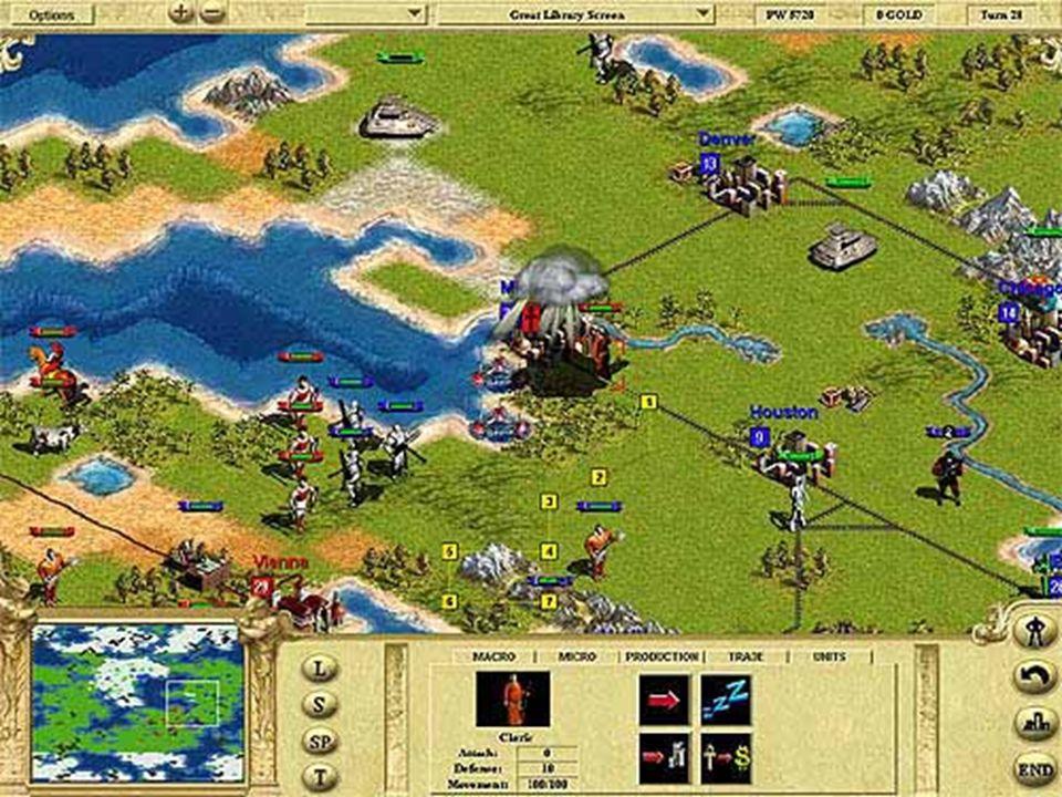 Geschichte & Gegenwart 1991 Sid Meier s Civilization rundenbasiertes Strategiespiel portiert auf: Windows, MacOS, Linux und AmigaOS.