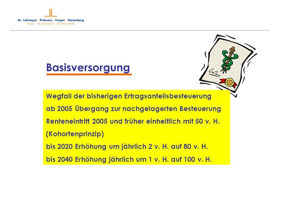 Grenzen der Steuerfestsetzung Grundfreibetrag 7.664 15.329 Sonderausgabenpauschbetrag 36 72 Werbungskostenpauschbetrag 920 je 920 (N-Einkünfte) Sparerfreibetrag/ WK-Pausch.