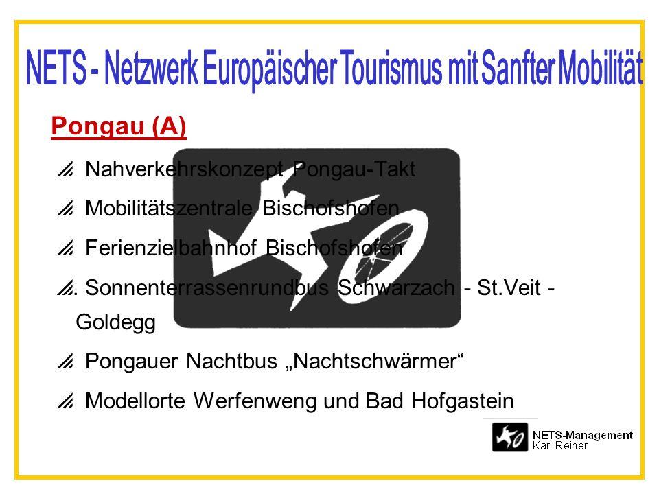 Pongau (A) Nahverkehrskonzept Pongau-Takt Mobilitätszentrale Bischofshofen Ferienzielbahnhof Bischofshofen. Sonnenterrassenrundbus Schwarzach - St.Vei