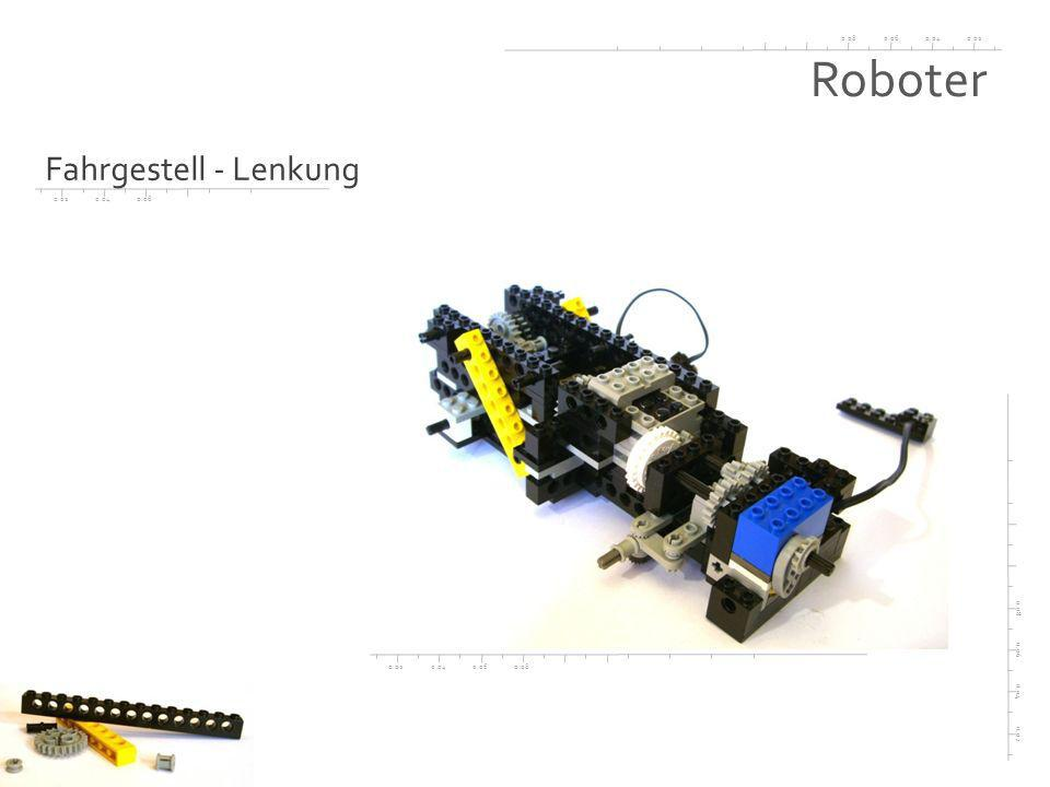Roboter Fahrgestell - Lenkung