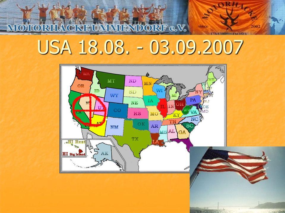 USA 18.08. - 03.09.2007