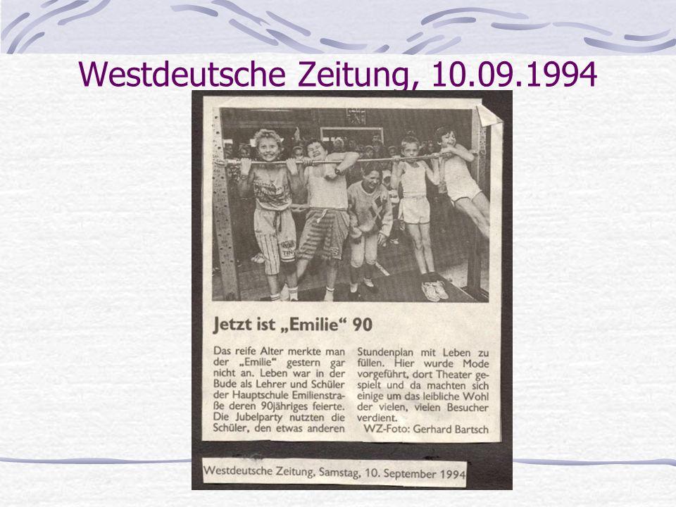 Westdeutsche Zeitung, 10.09.1994