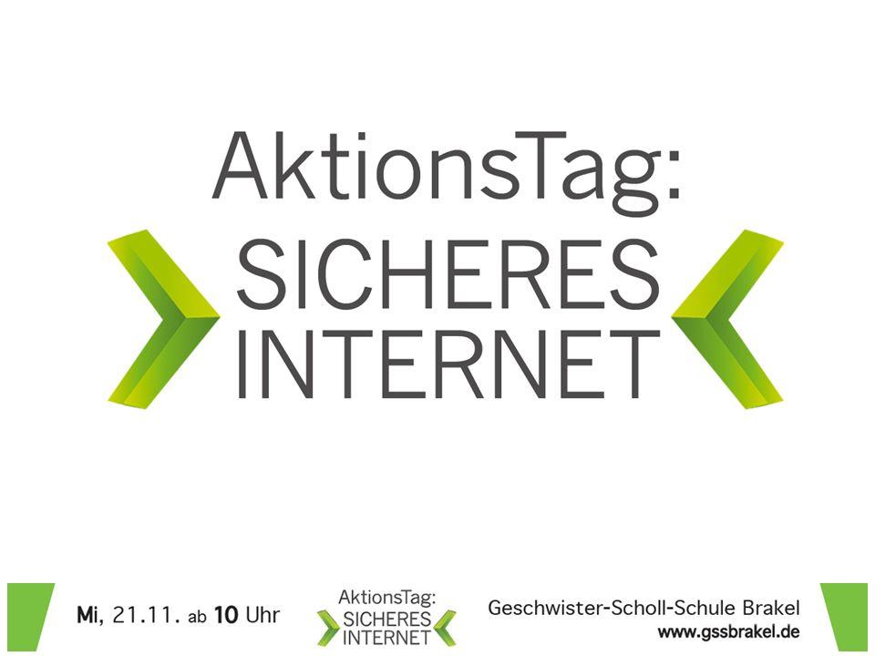 Peter Rech Internet Medien Coach ® Projektleiter – AktionsTag Brakel Mail: rech-peter@t-online.derech-peter@t-online.de Web: www.sicheres-netz-hilft.dewww.sicheres-netz-hilft.de Web: www.aktion-sicheres-internet.dewww.aktion-sicheres-internet.de