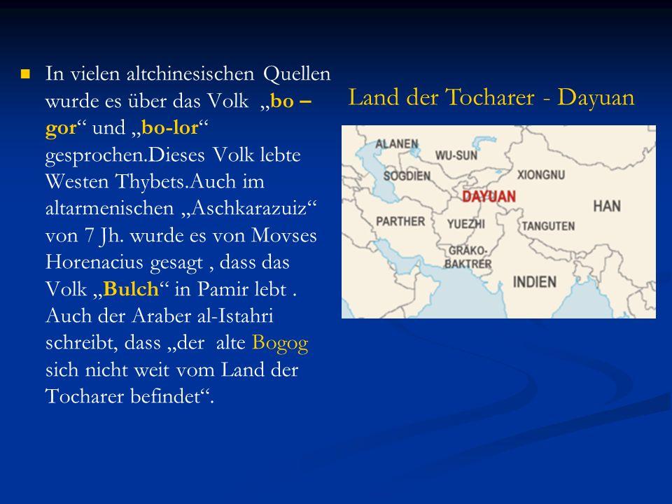 => Alle diese Fakten widersprechen dem Türko- altaischen Theorie, weil die Anhänger dieser Theorie glauben, dass die Protobulgaren aus Westsibirien stammen.