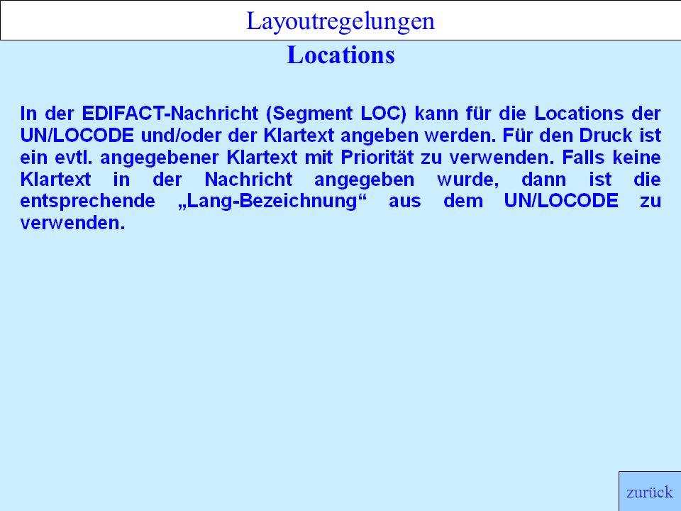 Locations Layoutregelungen zurück