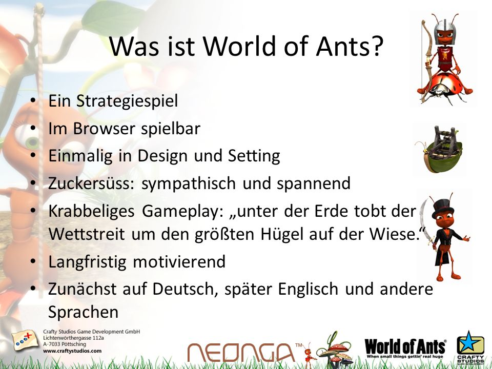 Was ist World of Ants.