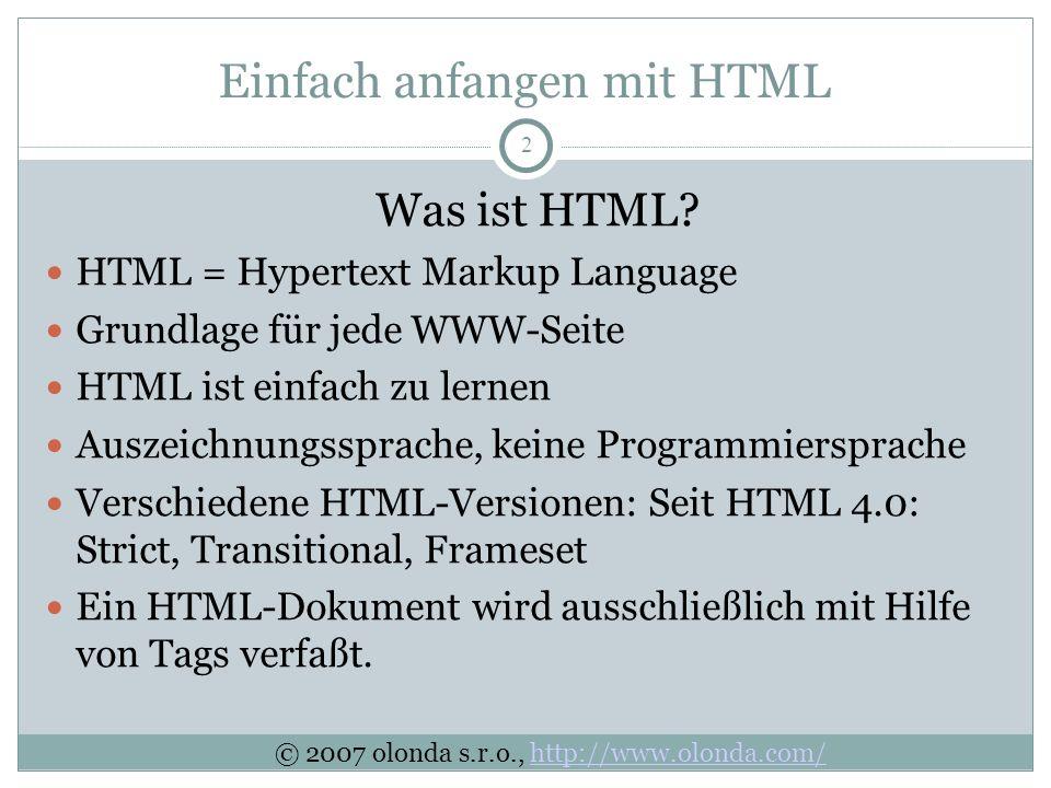 2 Was ist HTML.