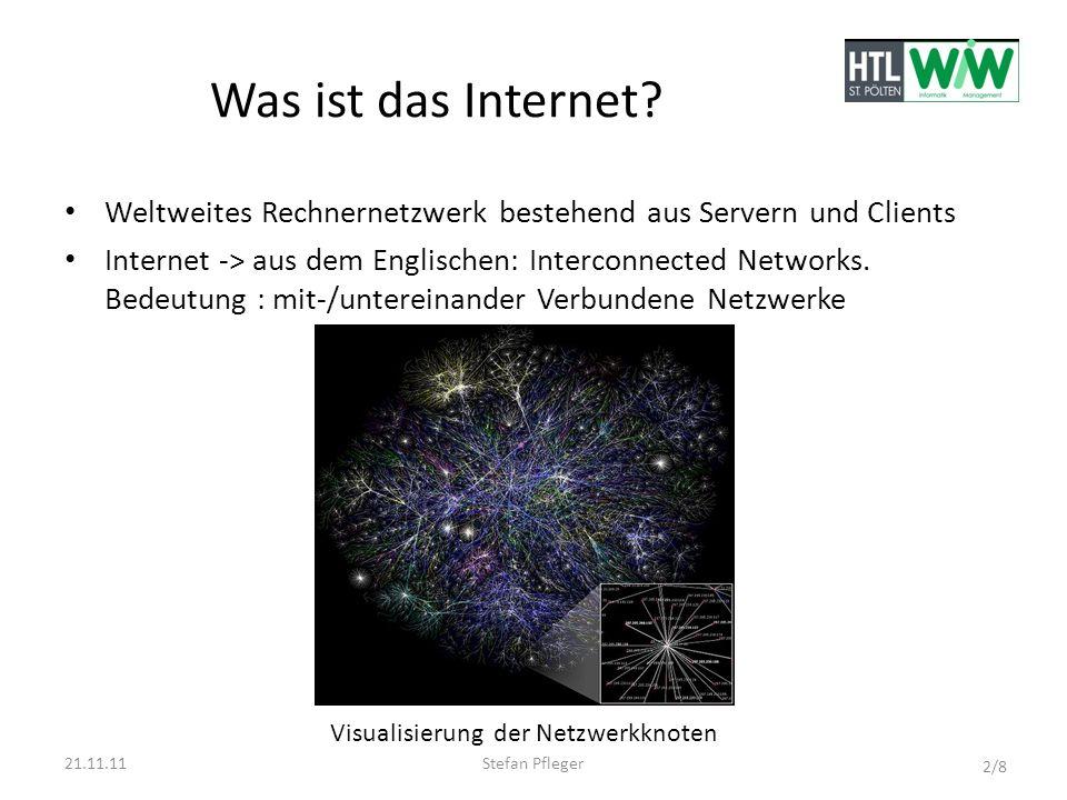 Geschichte des Internets Es ist aus dem ARPANET (Verbindung von Universitäten und Forschungseinrichtungen ) entstanden.