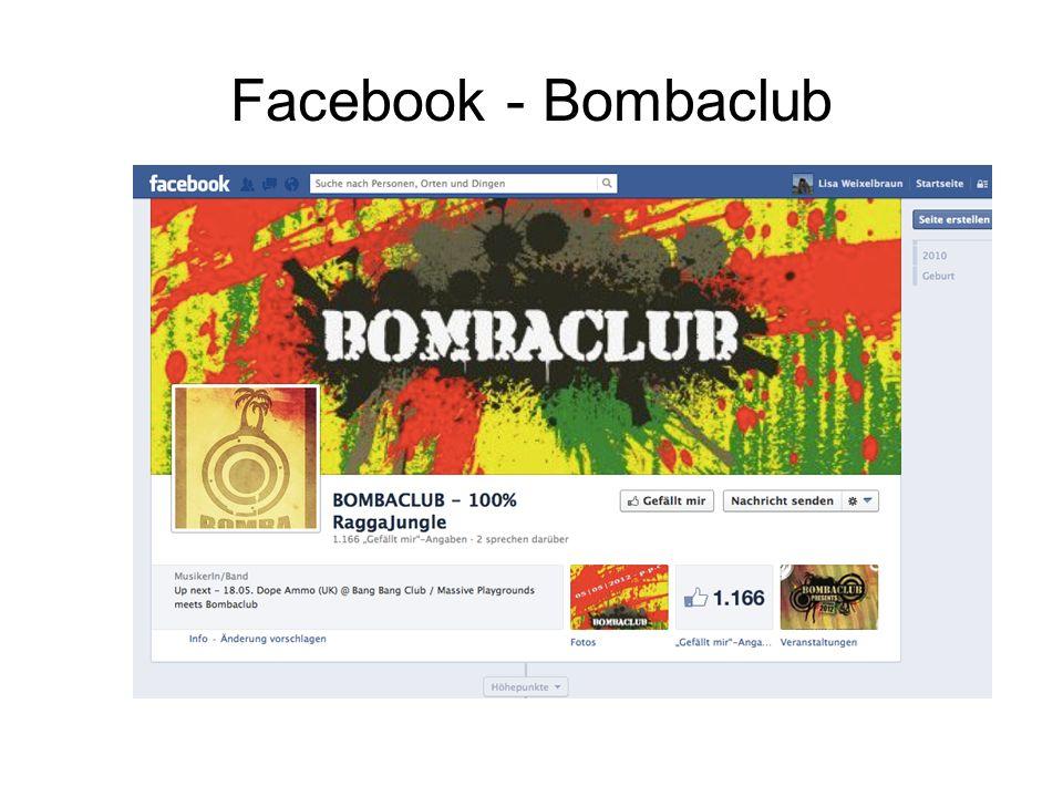 Facebook - Bombaclub