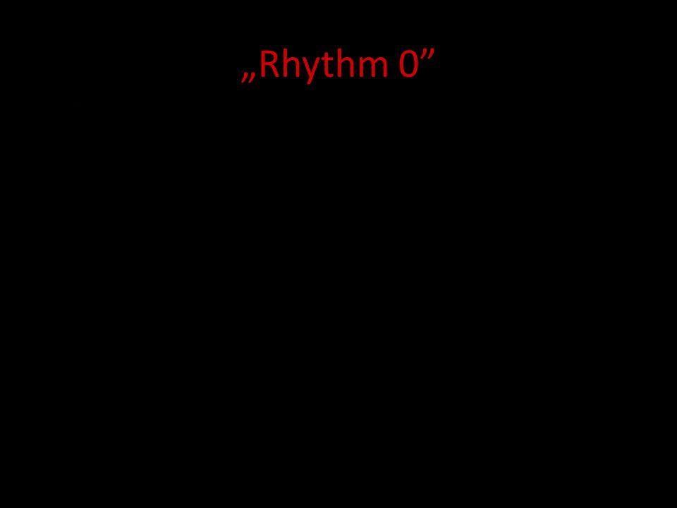Rhythm 0